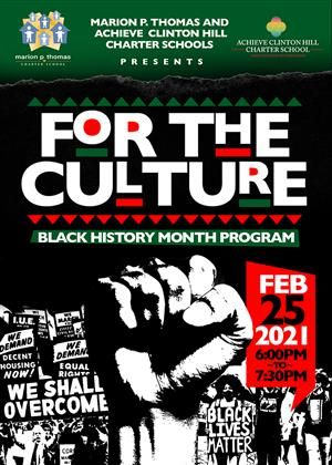 Black History Month Showcase Coming Up 2/25