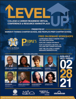 Level Up College & Career Readiness Virtual Conference Sessions On-Demand Until Feb 28